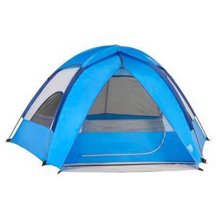 Wenzel Alpine Lightweight Dome 3 Person 3 Pole Outdoor Family Camping Tent,