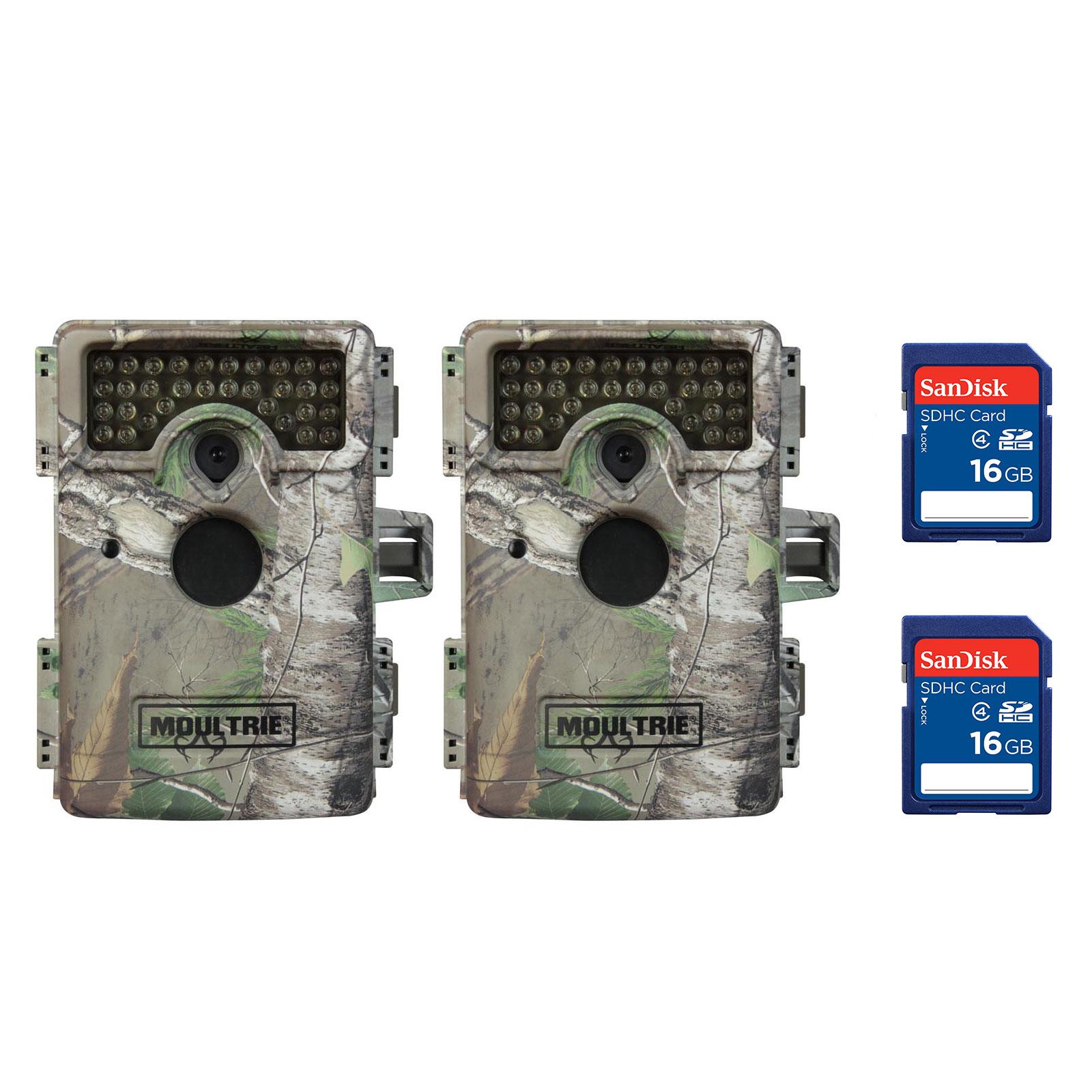 Moultrie M-1100i Mini Infrared Digital Trail Game Camera,...