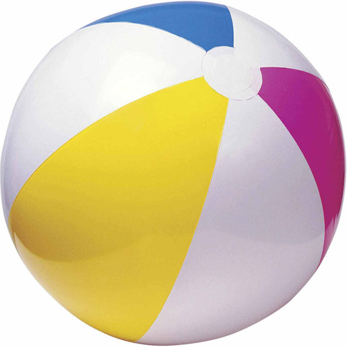 "Economy 24"" Beach Ball, Pack of 12 by S&S"