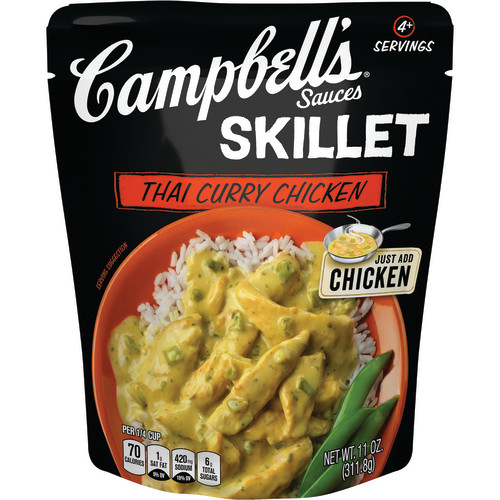 Campbell's Skillet Sauces Thai Curry Chicken, 11 oz.