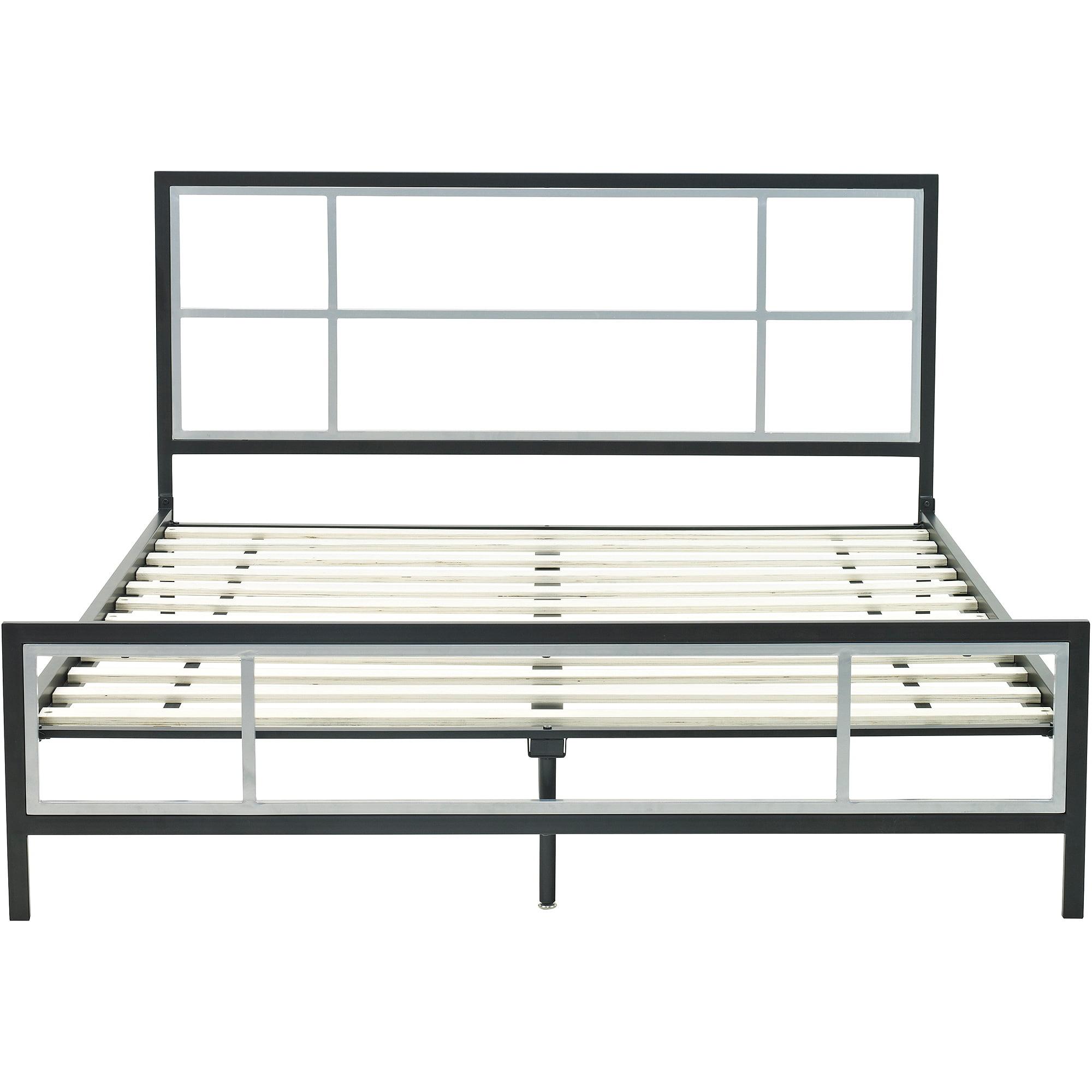 Metal platform bed frame - Premier Karina Metal Platform Bed Frame Twin Box 1 Of 2 Walmart Com
