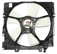 TYC 600350 Subaru Legacy Replacement Radiator Cooling Fan Assembly