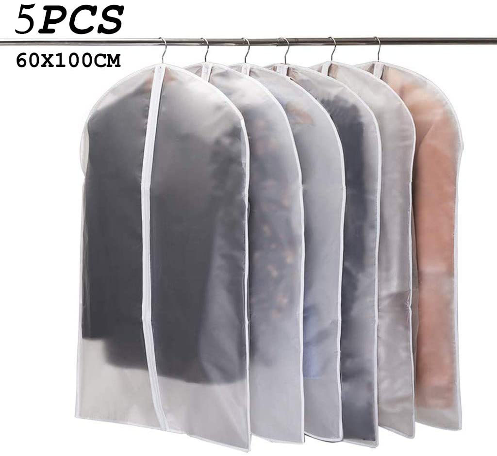 Plastic Dust-Proof Cloth Cover Dress Suit Garment Storage Bag Protector Tools