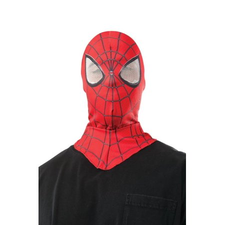 Amazing Spider-Man 2 Adult Costume Fabric Hood Mask - Mankind Mask