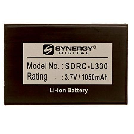 SDRC-L330 - Li-Ion, 3.7 Volt, 1050 mAh, Ultra Hi-Capacity Battery - Replacement For Universal 11N09T Remote Control Battery (Universal Remote Battery)