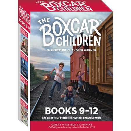 The Boxcar Children Mysteries Boxed Set #9-12 - Halloween Mystery Box Ideas