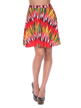 1dac5db7d8e3 Product Image Women s Chevron Printed Fit and Flare Skirt