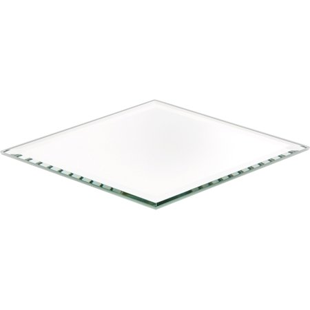 Beveled Glass Mirror, Diamond Shaped 3mm - 4
