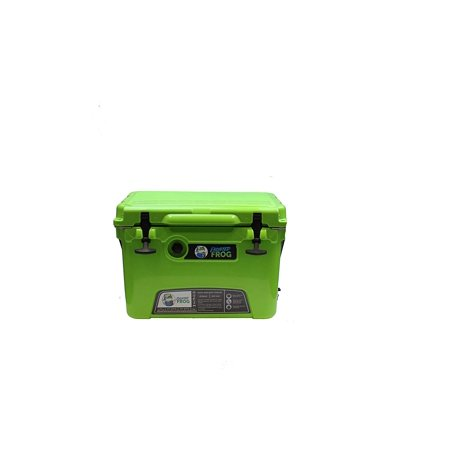 Frog Chest (Frosted Frog Green 20 Quart Ice Chest High Performance Insulated Cooler)
