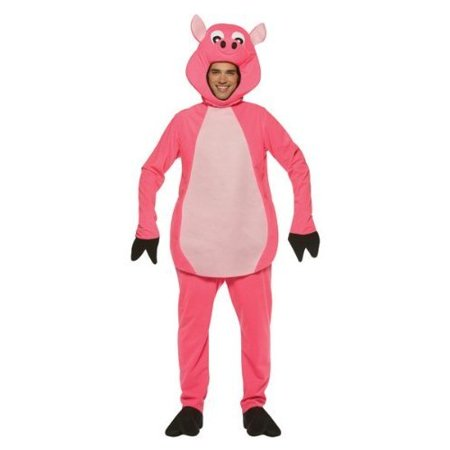Pig Adult Halloween Costume - One Size - Pigs In A Blanket Costume