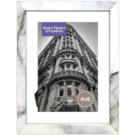 Better Homes and Gardens Marble Finish Floating Frame - 4x6