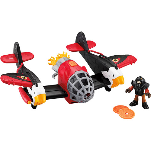 Fisher-Price Imaginext Large Twin Eagle Plane