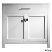 VIRTU USA  Caroline 36-inch Single-sink Bathroom Vanity Cabinet