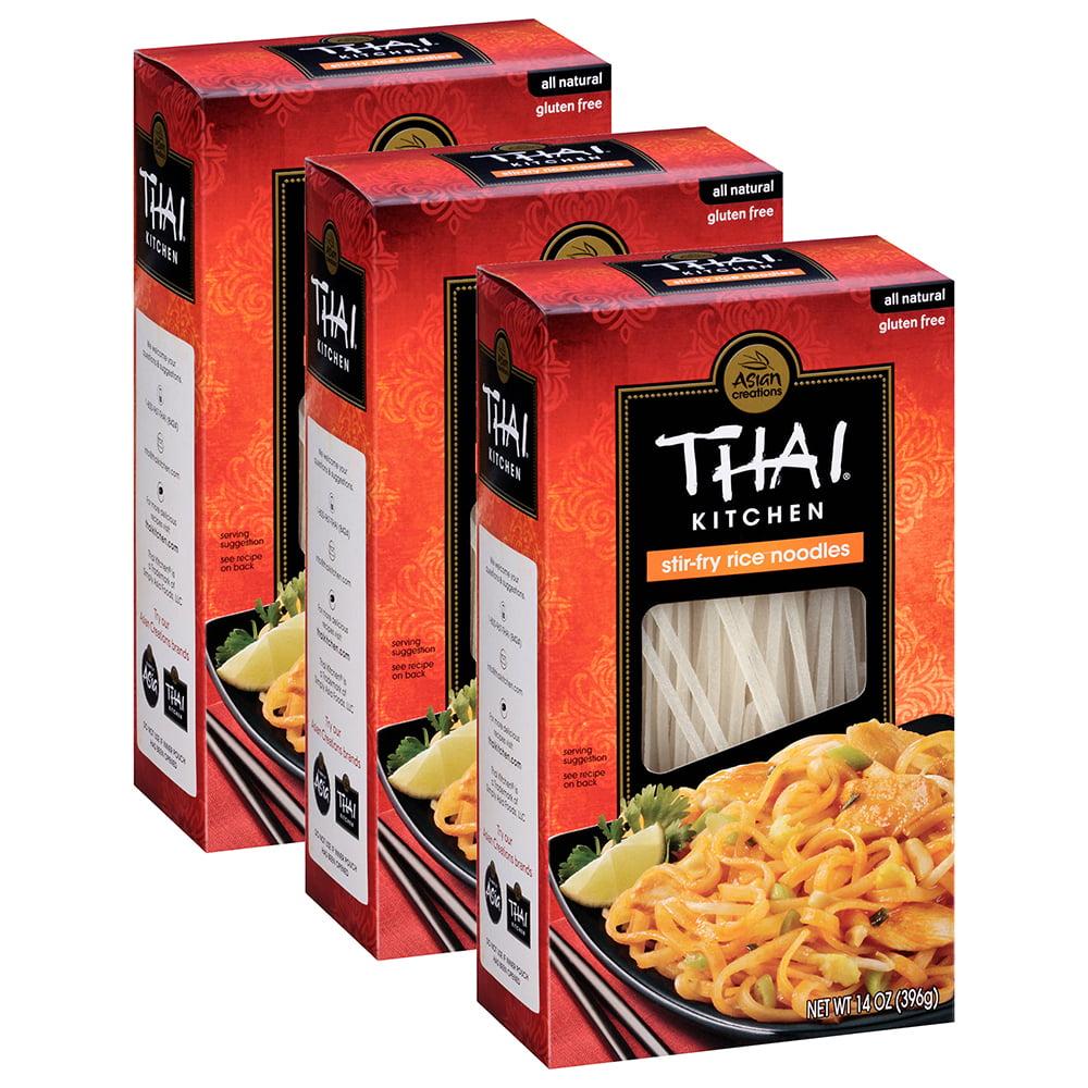 (36 Pack) Thai Kitchen Gluten Free Stir Fry Rice Noodles, 14 oz