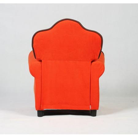 Costway Child Recliner Kids Sofa Chair Couch Living Room Furniture Orange - image 5 de 7