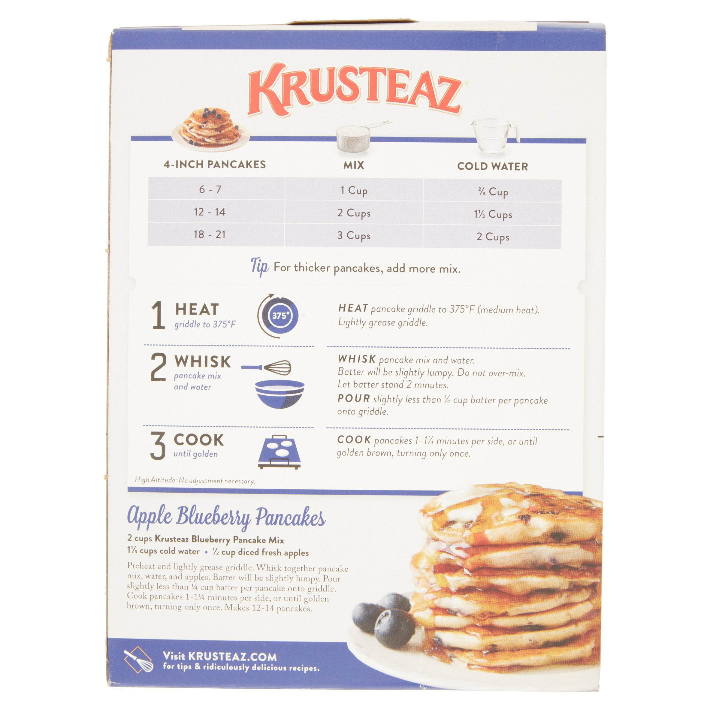 Krusteaz Pumpkin Pancake Mix Ingredients on evenflo 2 in 1 high chair