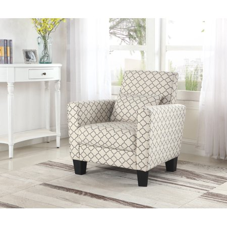 Best Quality Furniture Accent Chair Geometric Print