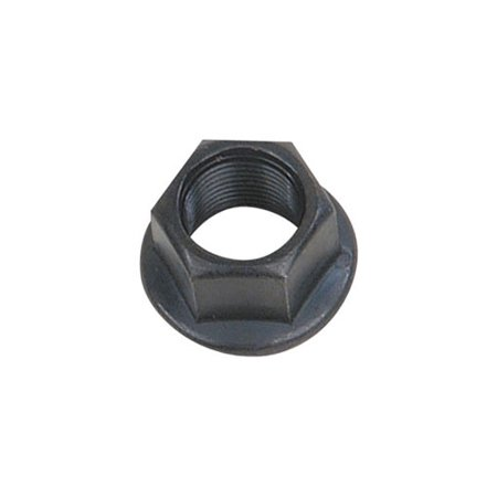 Flange Nut 14mm Black. Bicycle nut, bike nut, lowrider, beach cruiser, chopper, mountain, limo