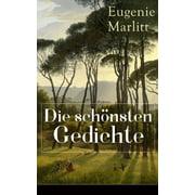Die schönsten Gedichte von Eugenie Marlitt - eBook