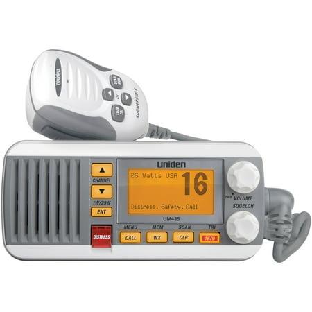 M36 Vhf Marine (Uniden UM435 25-Watt Full-Featured Fixed-Mount VHF Marine Radio (White) )