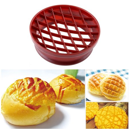 Jeobest 1PC Pineapple Bun Mold - Lattice Press Pineapple Bun Mold Plastic Bread Cake Mould Kitchen Pastry Baking Pastry Tools MZ](Mini Pineapple Upside Down Cakes)