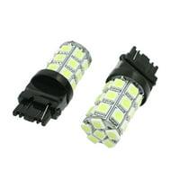2Pcs 3156 Wedge 27 LEDs License Plate White Auto Car Lights Bulbs Lamp DC 12V