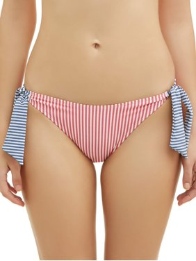 c2e759c5b6d Product Image Juniors' Seersucker Bow Side Tie Swimsuit Bottom