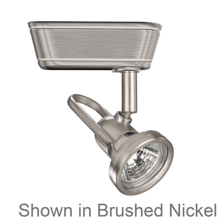 Brushed Nickel Low Voltage Track Heads Compatible With Juno Systems Low Voltage Track Heads Compatible