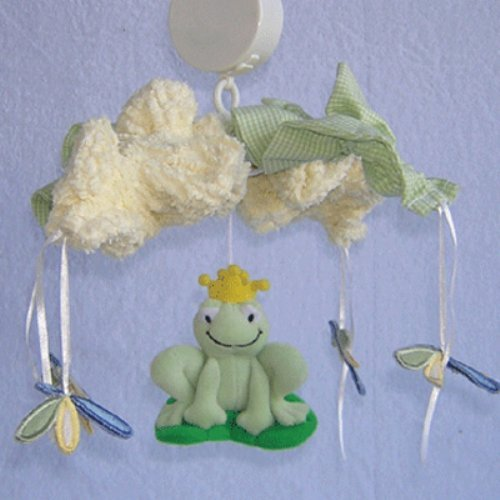 Brandee Danielle Ribbit Musical Crib Mobile