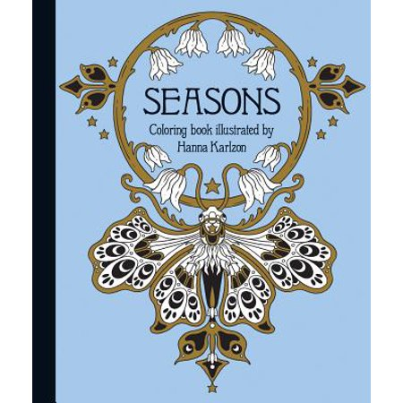 Seasons Coloring Book : Published in Sweden as - Is There Halloween In Sweden