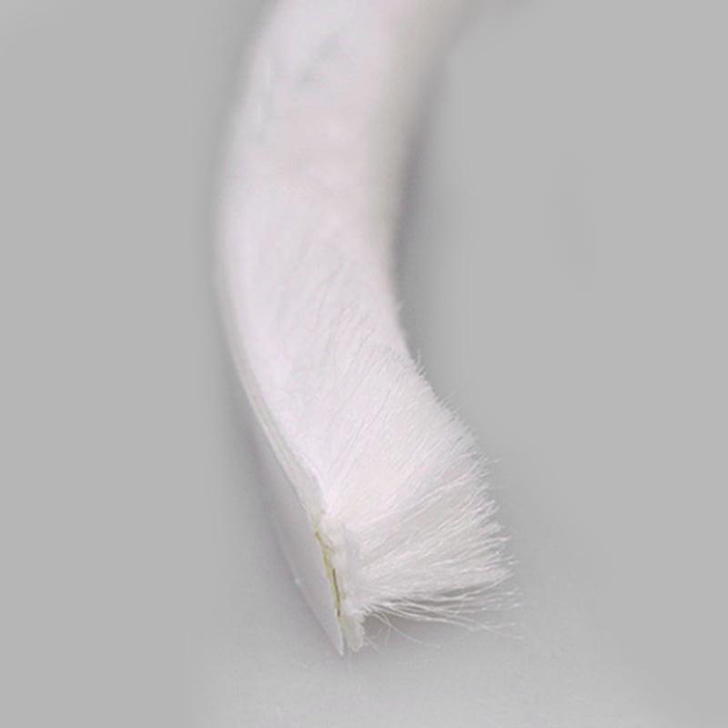 10 Meter Draught Excluder Brush Window Door Seal Tape Self-adhesive Decor 1 Pc