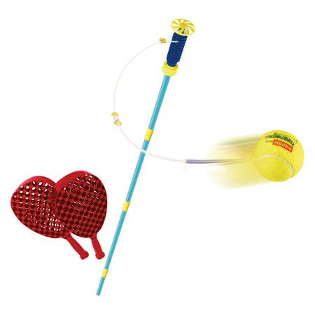 National Sporting Goods MOOKIE Championship Swingball, Red/Yellow