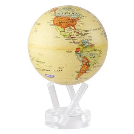 MOVA Antique Beige Revolving Globe