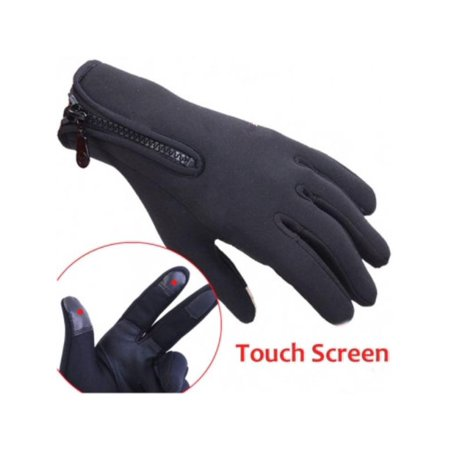 1 Pair Windstopper Full Finger Gloves Winter Thermal Touch Screen Gloves Snowboard Ski Cycling Outdoor