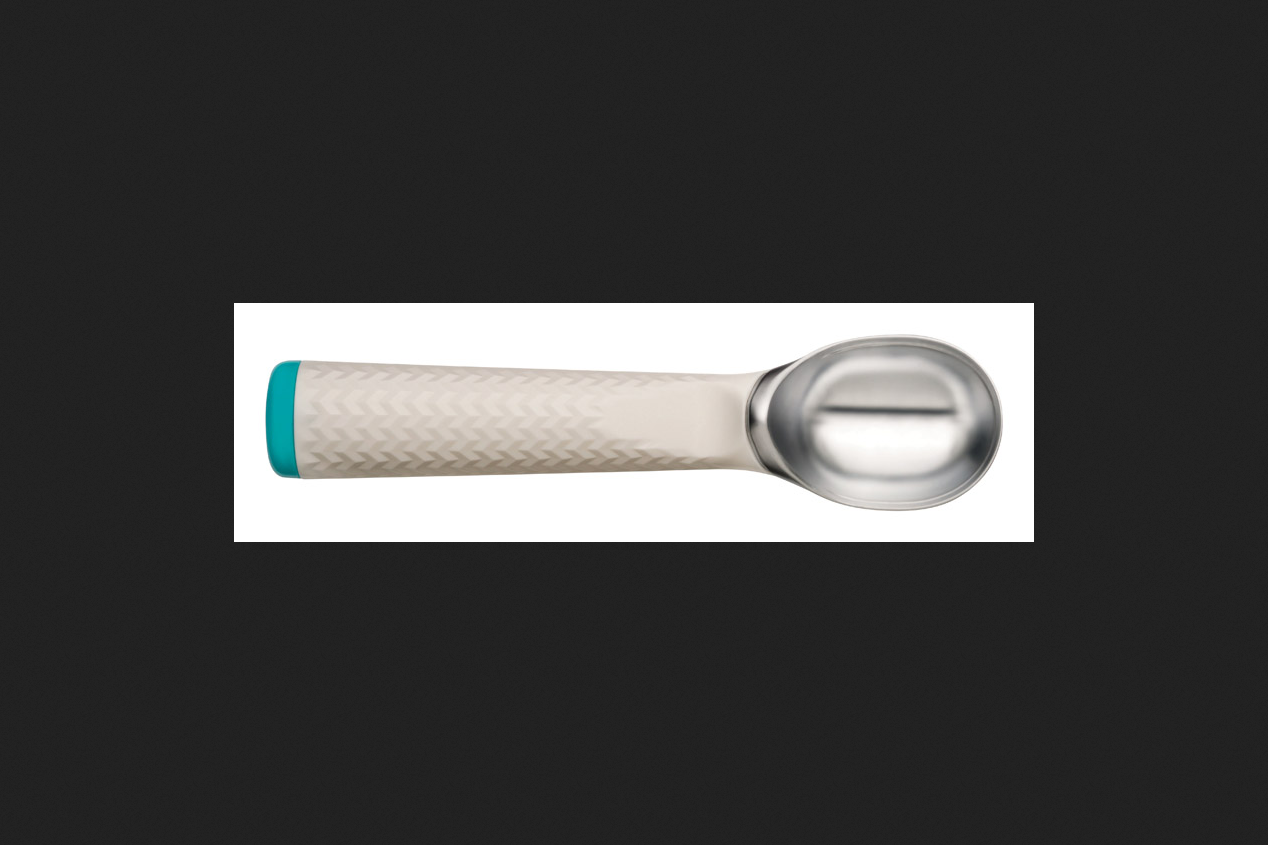 Chef'n Sweet Spot Ice Cream Scoop Plastic Blue White by Chef'N
