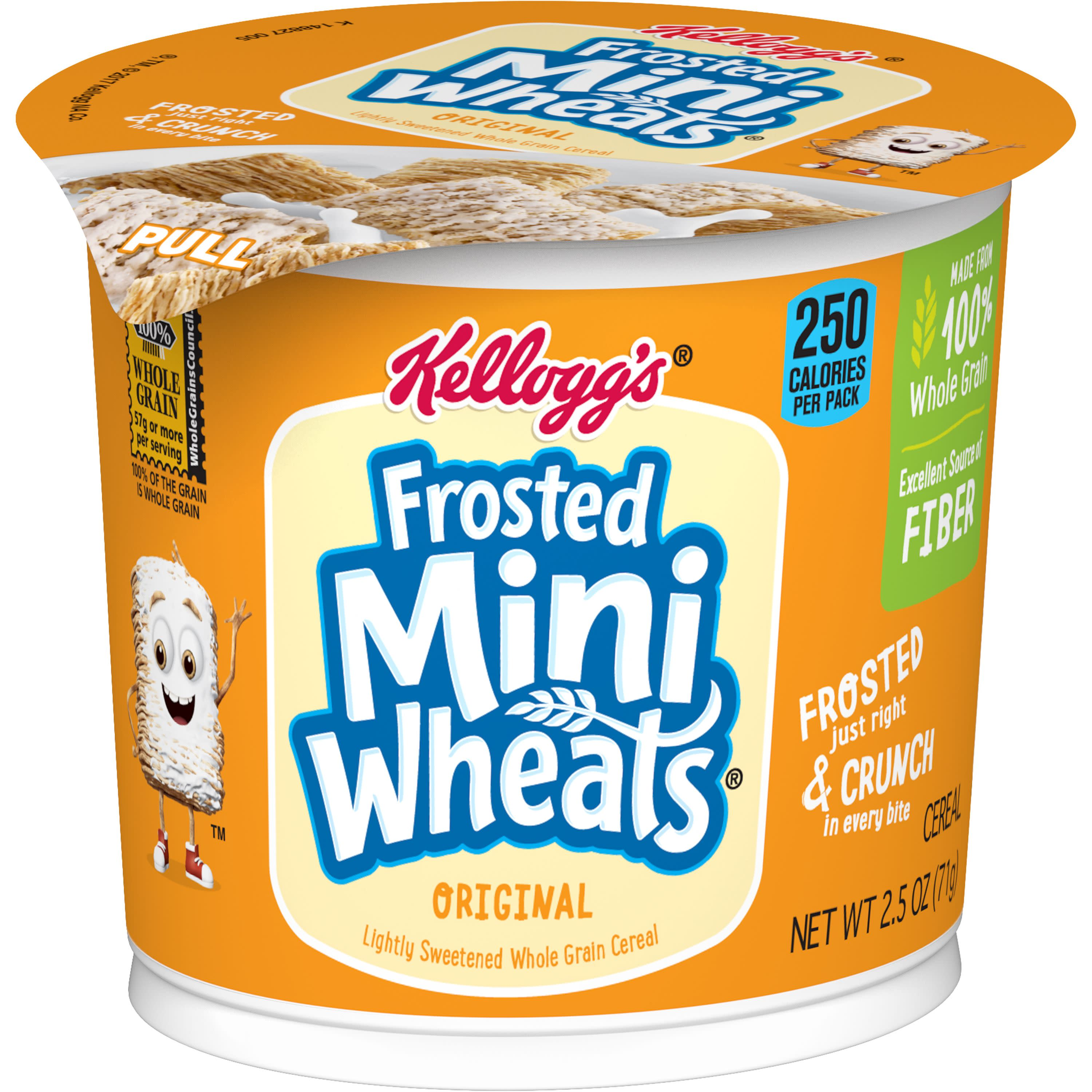 Kellogg's Frosted Mini-Wheats Cereal-in-a-Cup Breakfast