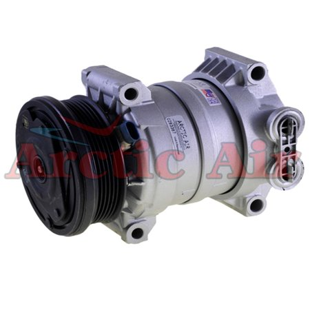 Remanufactured Arctic Air Premium Auto A/C Compressor with Clutch for 1996-2000 Chevrolet Express 1500 4.3L 5.0L 5.7L - 1 YEAR WARRANTY*