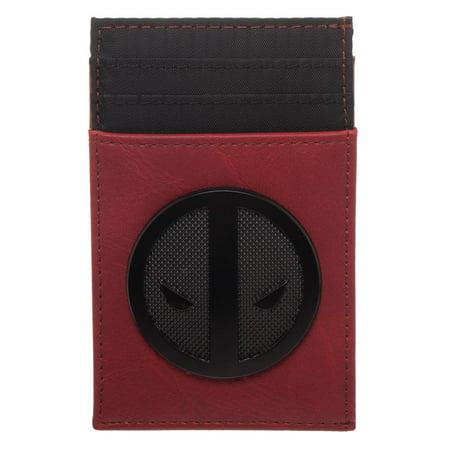 Card Wallet - Deadpool - Black Badge Front Pocket New mw6qmpmvu
