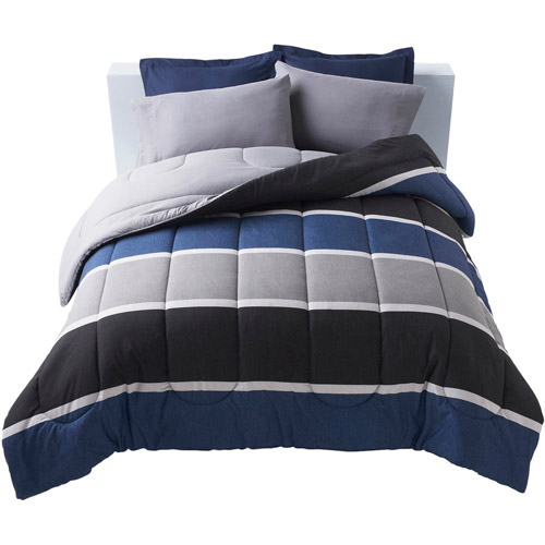 Get It Together Rugby Stripe Bedding Comforter
