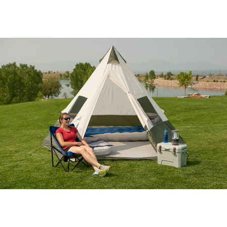 size 40 ef6db 3ab4e Ozark Trail 7-Person Teepee Tent without Center Pole ...