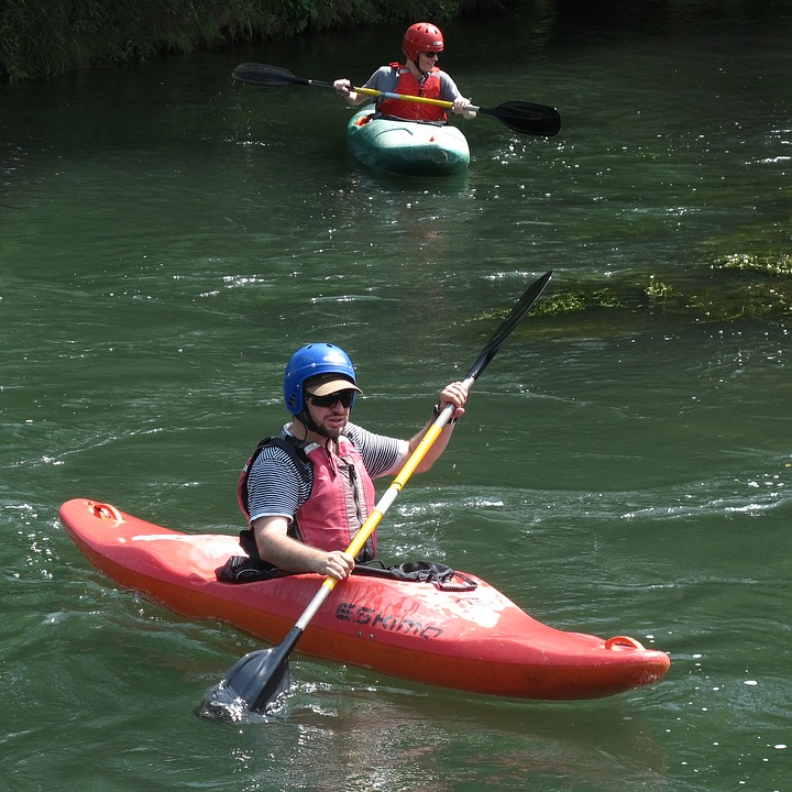 LAMINATED POSTER River Water Sports Kayaked Kayak Paddle Poster Print 24 x 36