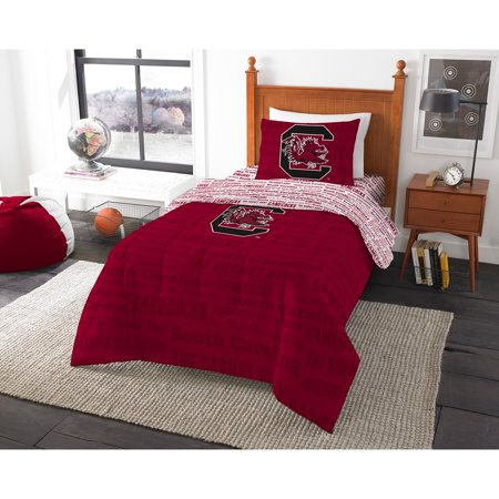 NCAA University of South Carolina Gamecocks Bed in a Bag Complete Bedding Set ()
