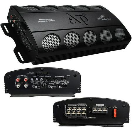 Amp 4 Channel, 1000 Watt Bridgeable Amplifier Audio Auto Car