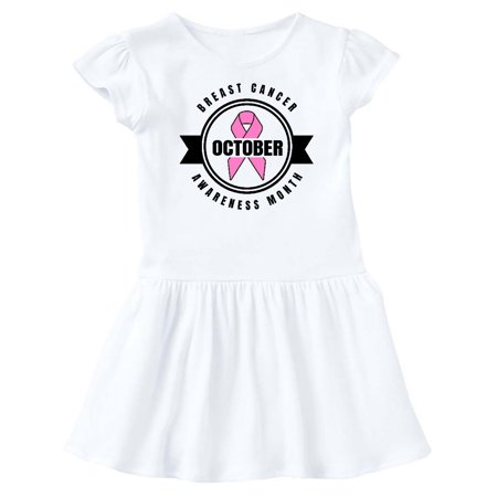 October Fest Dress (October Breast Cancer Awareness Month Badge Infant)