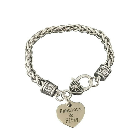 50th Birthday Gifts For Women Charm Bracelet Perfect Gift Ideas