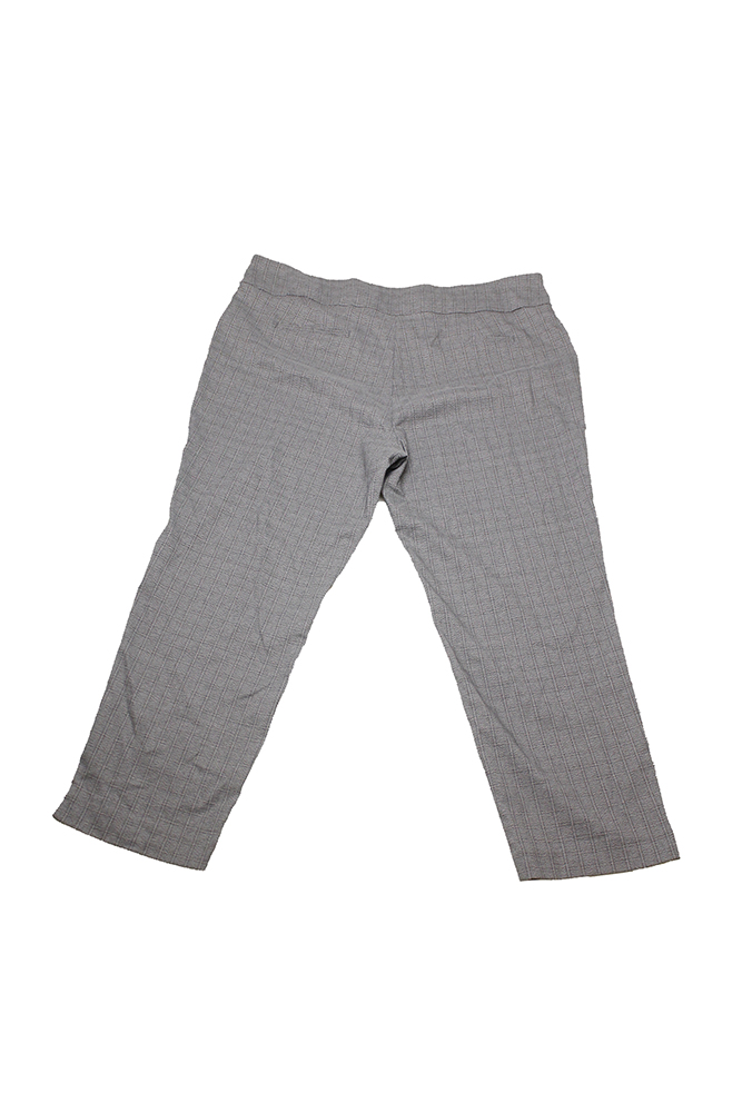 1b5bbd017f174 CharterClub - Charter Club Plus Size Grey Plaid Slim-Leg Pants 24W -  Walmart.com