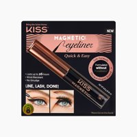 KISS Magnetic Eyeliner Black