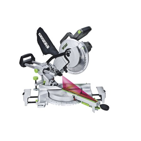 Genesis GMSDR1015LC 15 Amp 10 in. Sliding Compound Miter (Craftsman 10 Sliding Compound Miter Saw Review)