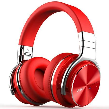COWIN E7 Pro Active Noise Cancelling Headphone Bluetooth Headphones  Microphone Hi-Fi Deep Bass Wireless Headphones Over Ear 30H Playtime Travel  Work