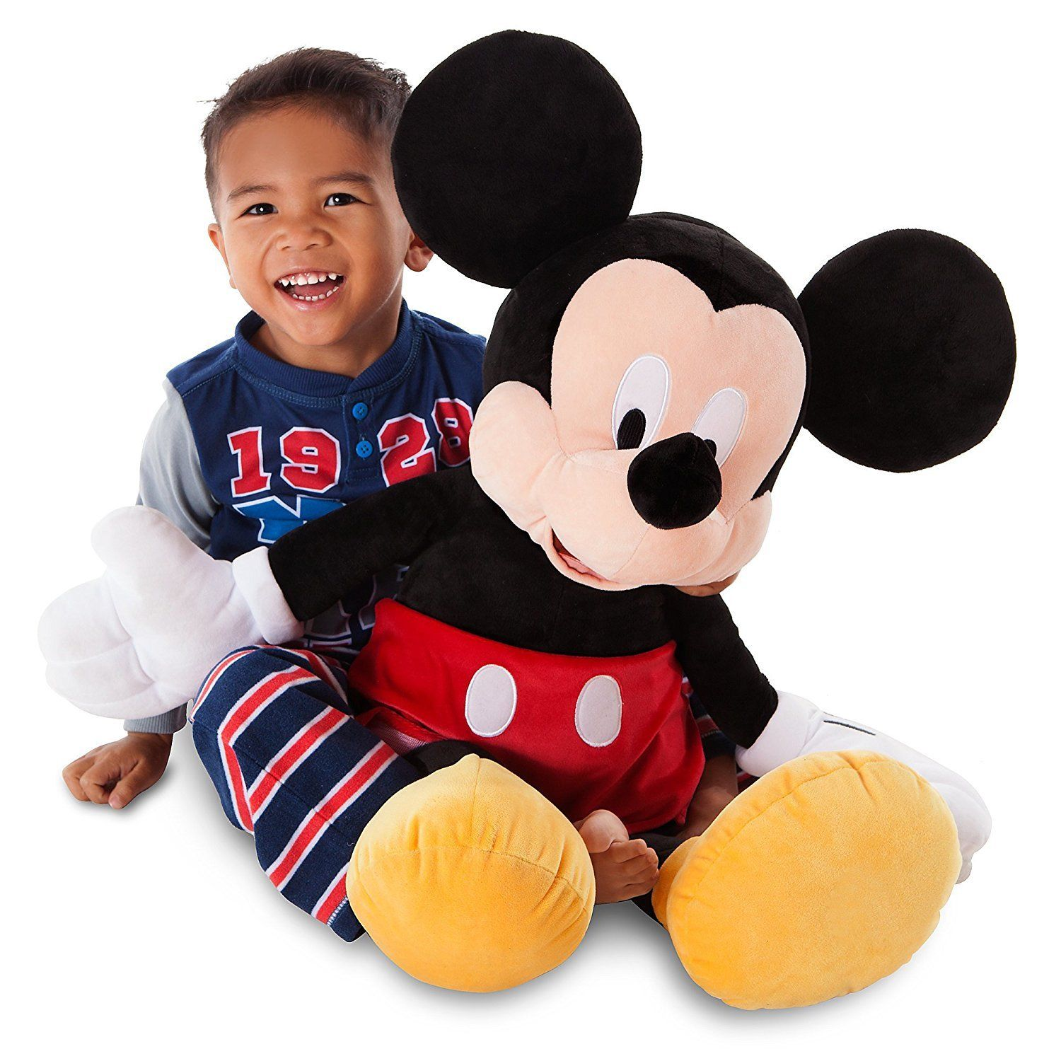 Disney Deluxe Mickey Mouse BIG Jumbo Large Plush